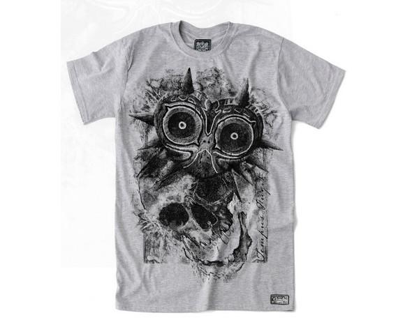 T-shirt design by Belle Hissam for Gametee featuring Zelda fanart
