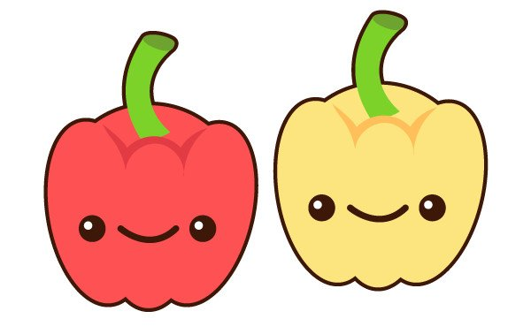 Create multiple pepper colorways