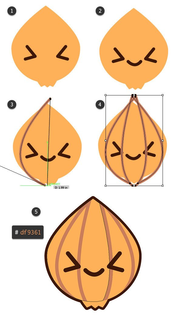 Add some details to your onion design