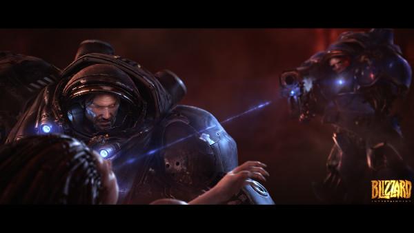 LightingCompositing - StarCraft II Wings of Liberty cinematic 2010