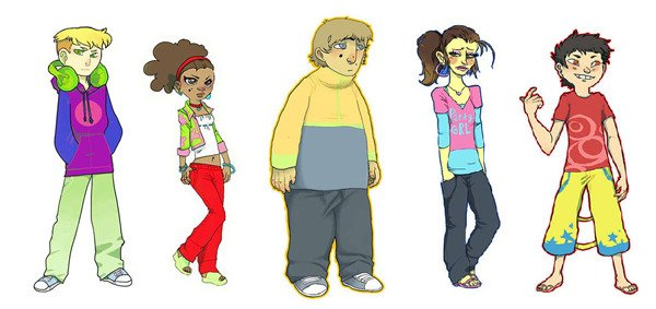 Character art for a Visual Novel game
