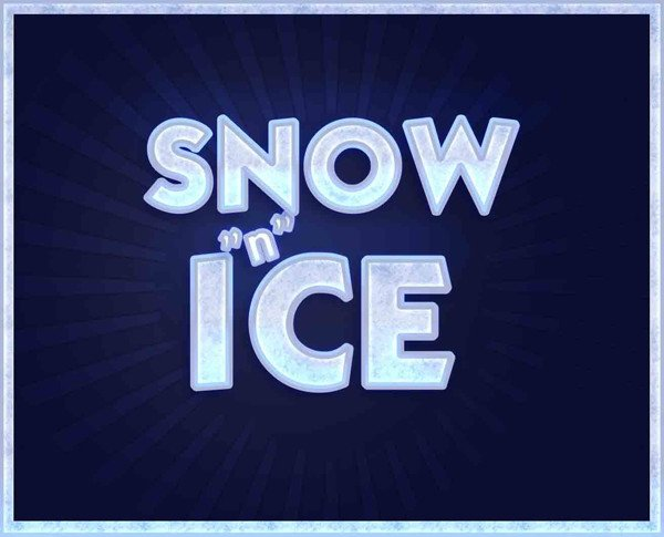 User Mac_witch shared their own take on a fun ice-inspired text effect tutorial by Collis Taeed