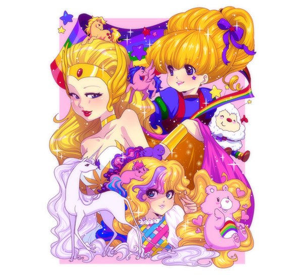 A fan-art print from Zambicandy regularly sold at various conventions