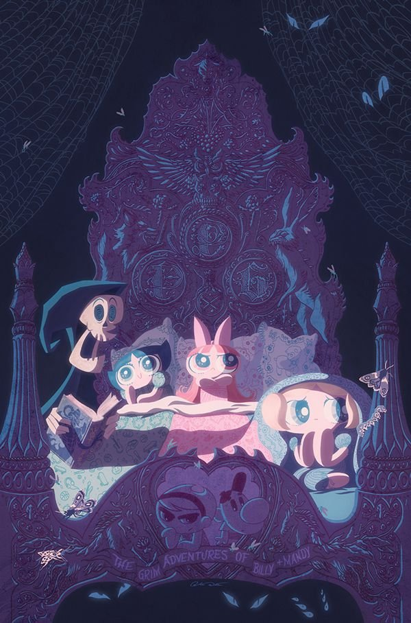 Powerpuff Girls Cover by George Caltsoudas