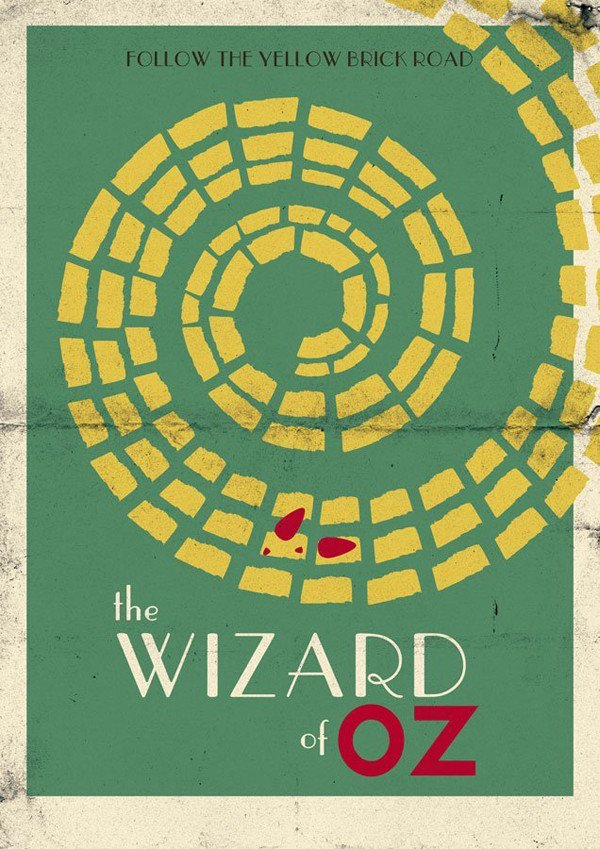 Matheus Abreu also shared his own Wizard of Oz poster design from Grace Fussells tutorial