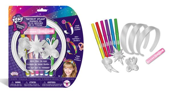 Licensed My Little Pony design by Chelsea Schmitz at Fashion Angels Enterprise created for Hasbro