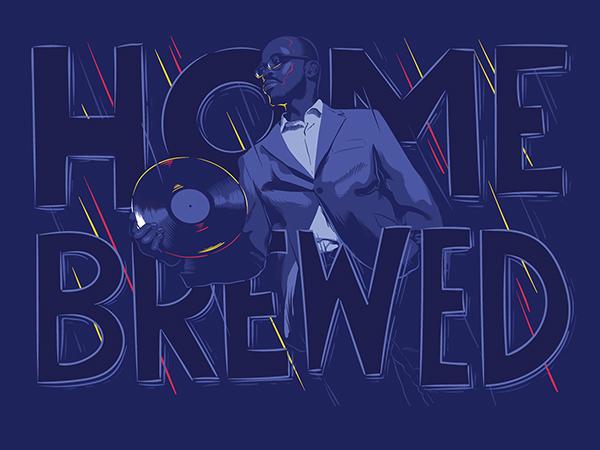 Black Coffee Milestone Illustrations