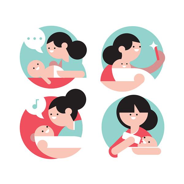 Health 24 spot illustrations