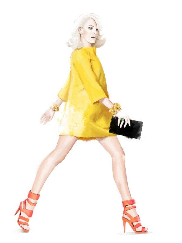 Fashion Illustration by Mateja Kova
