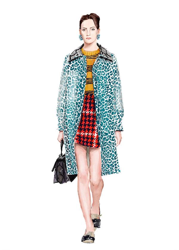 Fashion editorial 2015 Rouge Magazine by Mateja Kova