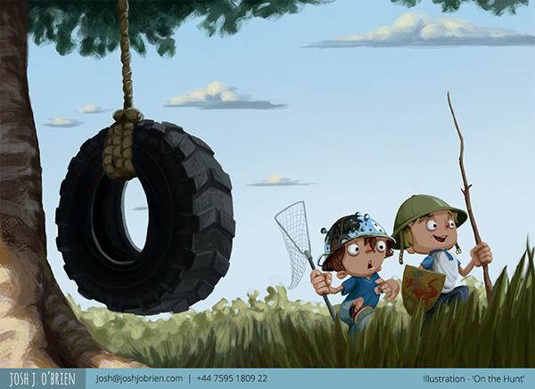 Illustration by Josh J OBrien