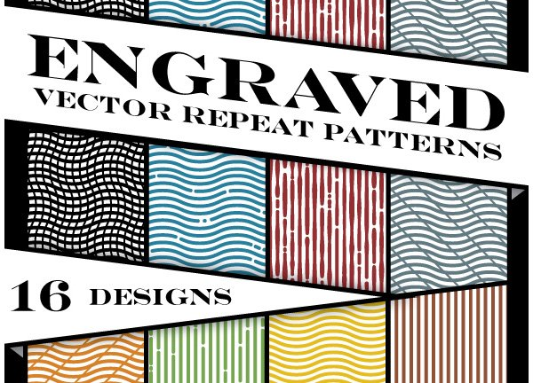 Engraved Vector Patterns