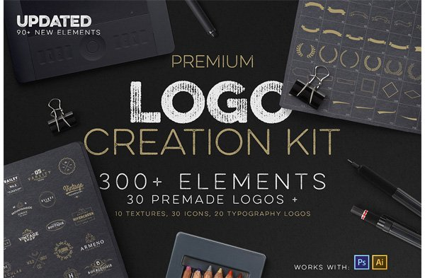 Logo Creation Kit  Bonus