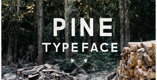 Pine Typeface