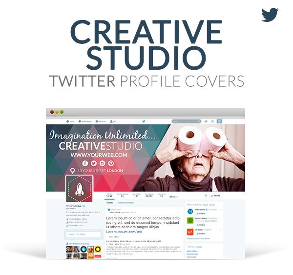 Twitter Profile Covers - Creative Studio