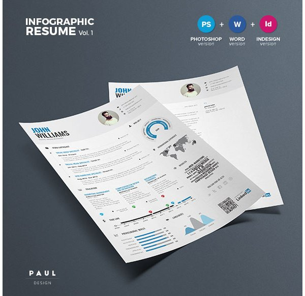 Infographic Resume Vol1