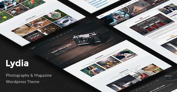 Lydia - Photography Magazine WordPress Theme