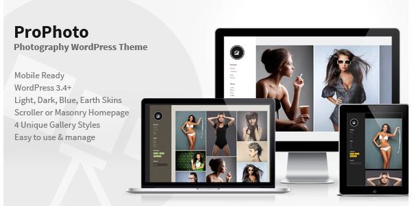 PhotoPro - Photography WordPress Theme