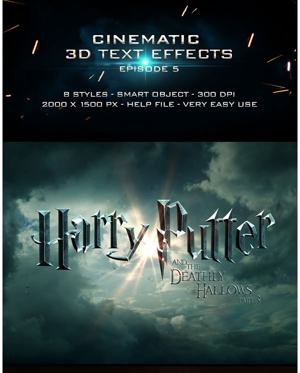 Cinematic Title Text Effects Vol 5