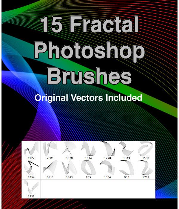 15 Fractal PS Brushes