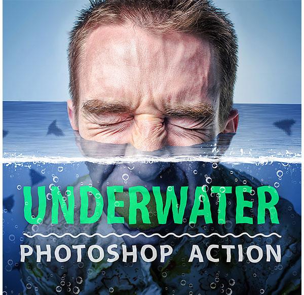 Underwater Photoshop Action