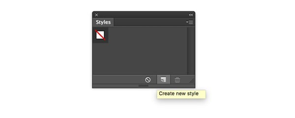Create a new style