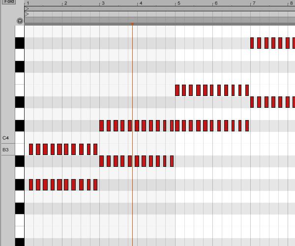 Chord notes
