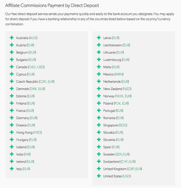 CJ County Direct Deposit List