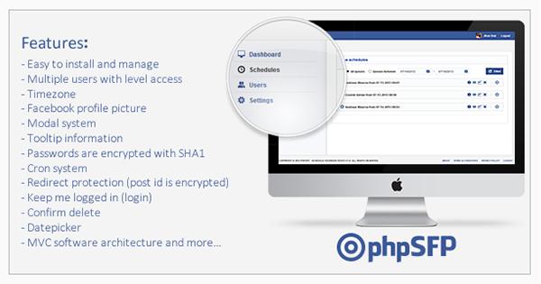 phpSFP - Schedule Facebook Posts