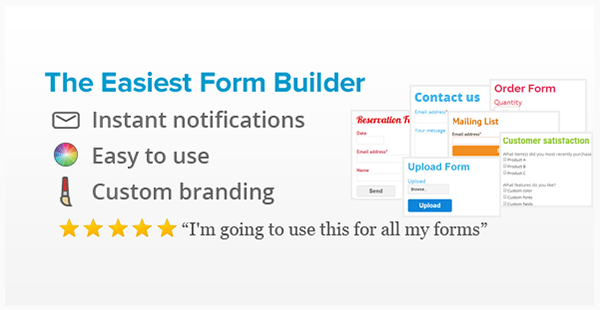 Form Generator - WordPress Form Builder