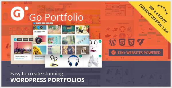 Go Portfolio - WordPress Responsive Portfolio