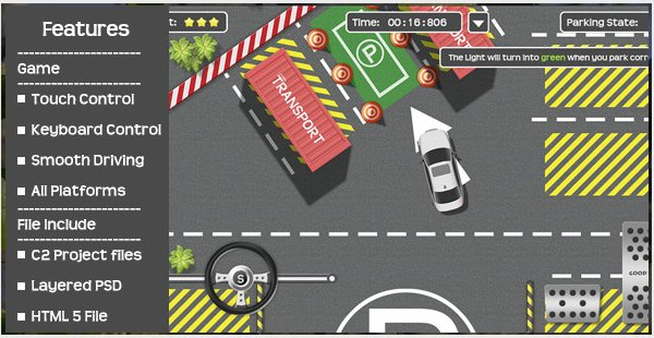 Lets Park-High Quality Parking Game