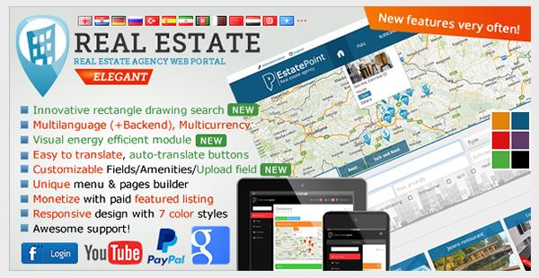 Real Estate Agency Portal