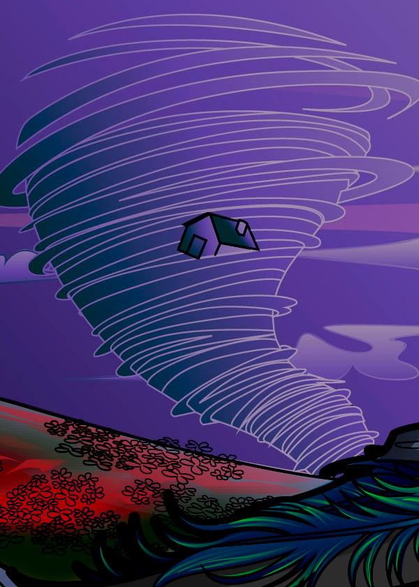 Adding Color to the Tornado