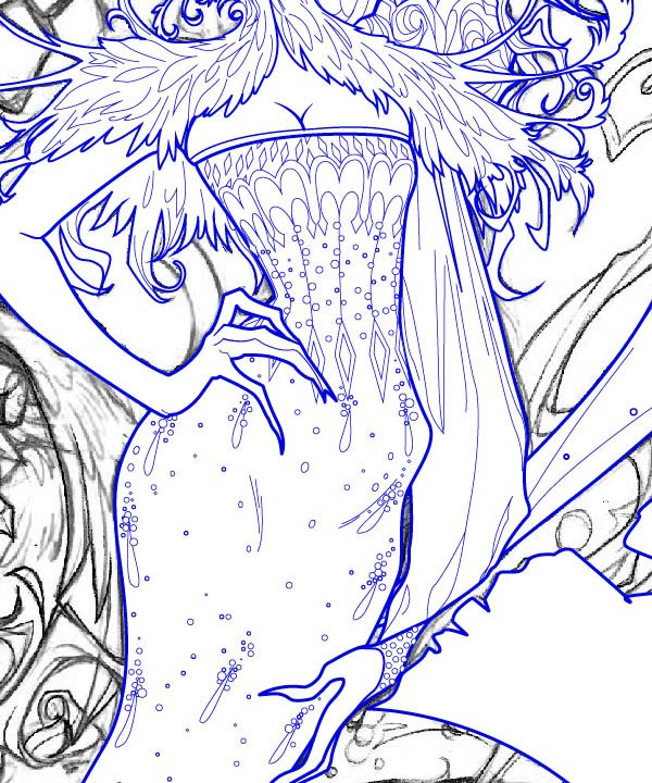 Adding Details to the Dress 3