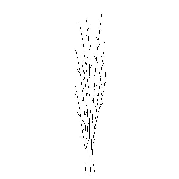how the brush work in Outline mode