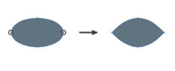 creating a dark area around the bird eye