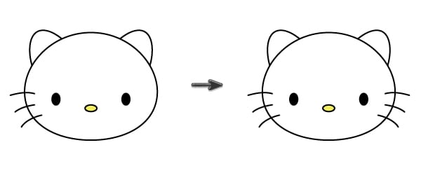creating the whiskers