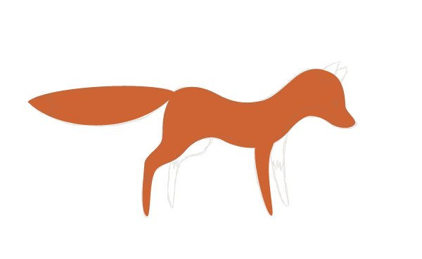 outlining the fox 1