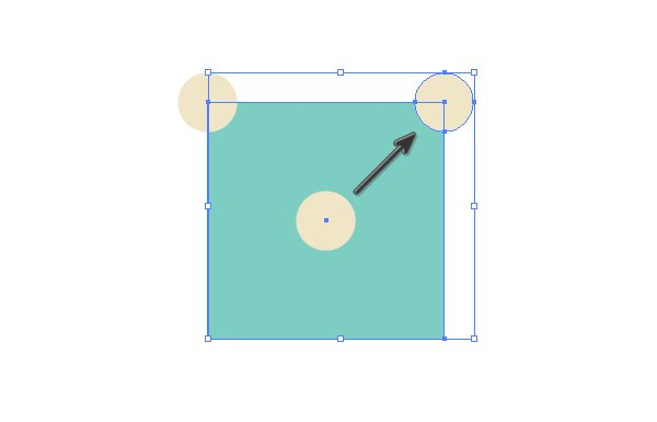 Creating third dot