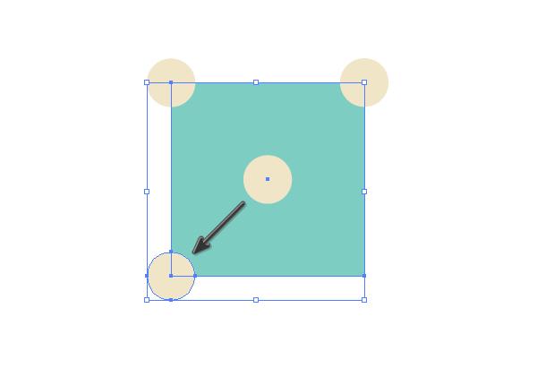 Creating fourth dot