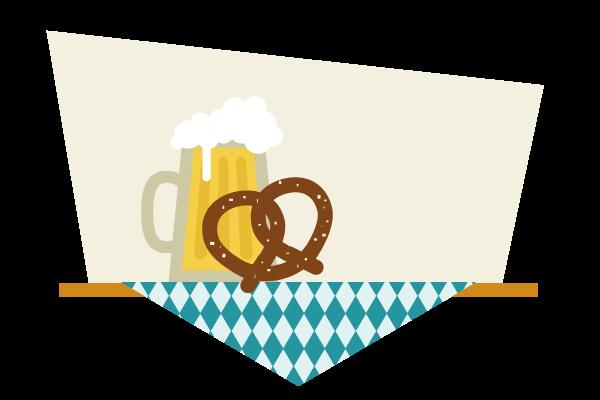 placing the pretzel