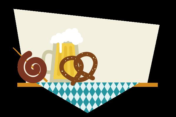 placing the bavarian spiral sausage