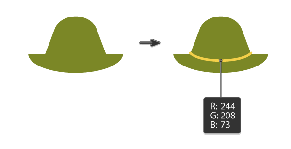 creating the hat 3