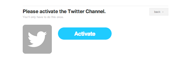 Activate channel