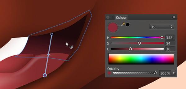 add a colour gradient