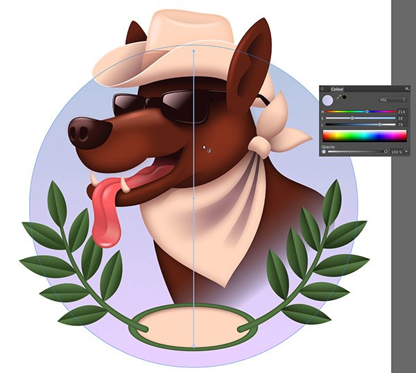 on the background layer create a large oval using the oval tool l