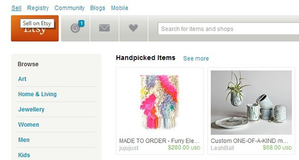 Creating Your Etsy Shop