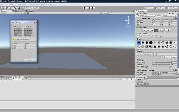 Adding A Ground Texture