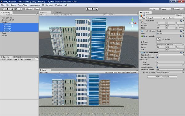 Organizing Your Buildings by Blocks